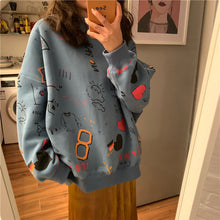 Load image into Gallery viewer, Doodle Sweatshirt, new season :)