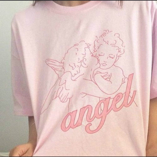 Pink Angel Baby Kisses