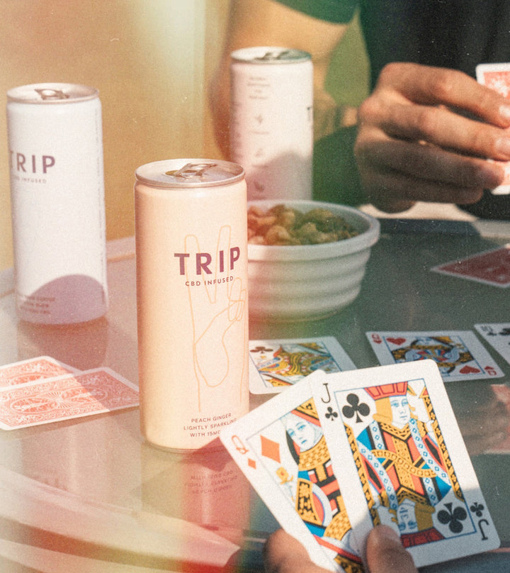 product-featured no-display playing cards with drinks