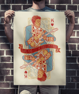 KING OF HEARTS PRINT