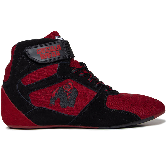 Gorilla Wear - Perry high tops - Red Black