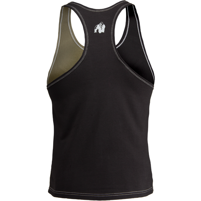 Gorilla Wear - Sterling Stringer Tank top - Black/Army Green