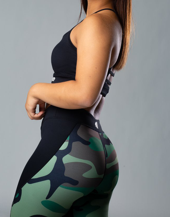 Krate Mesh Army Legging Back