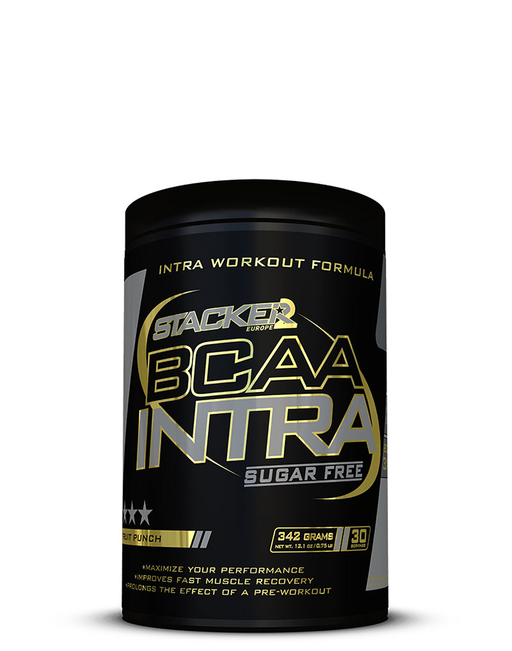 Stacker BCAA Intra Fruit Punch 342 grams