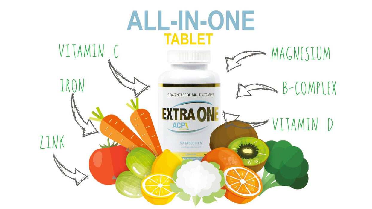 ACP Extra One Multivitamin Banner