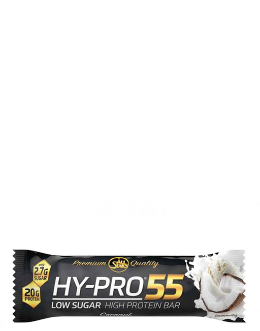 All Stars Hy-pro 55 protein bar coco