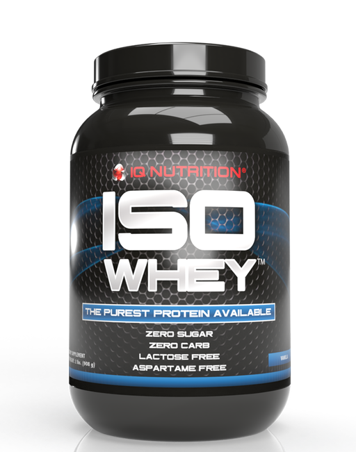 IQ Nutrition - Iso whey - Vanille - 36 servingd