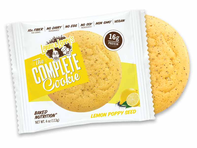 The Complete Cookie 16gr protein Lemon Poppy Seed