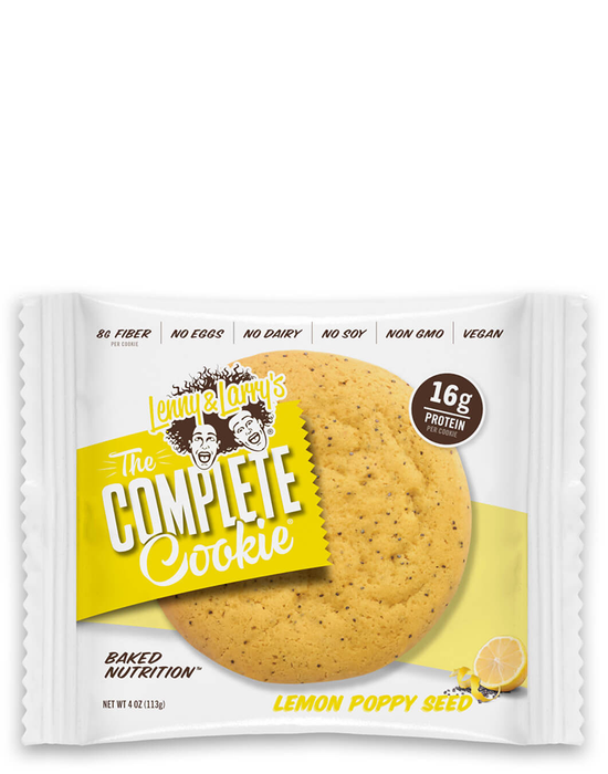 Lenny & Larry's The complete cookie Lemon Poppy Seed