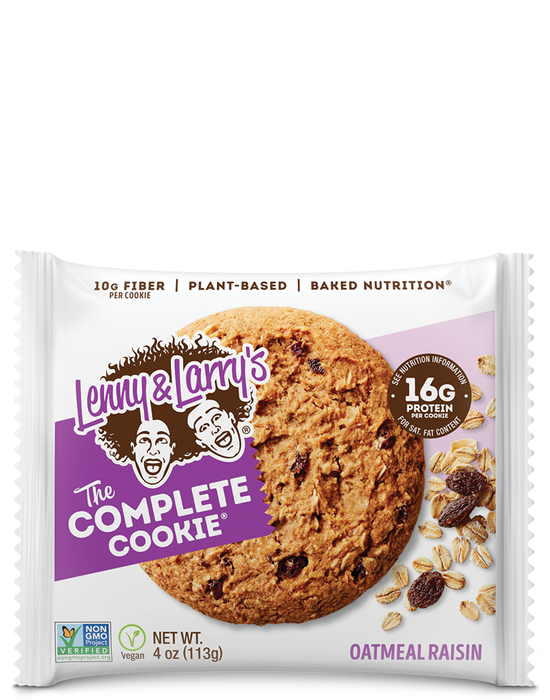 The Complete Cookie 16gr protein Oatmeal Raisin