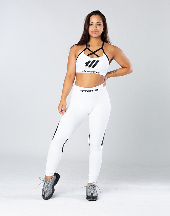 Krate Heaven white mesh set front
