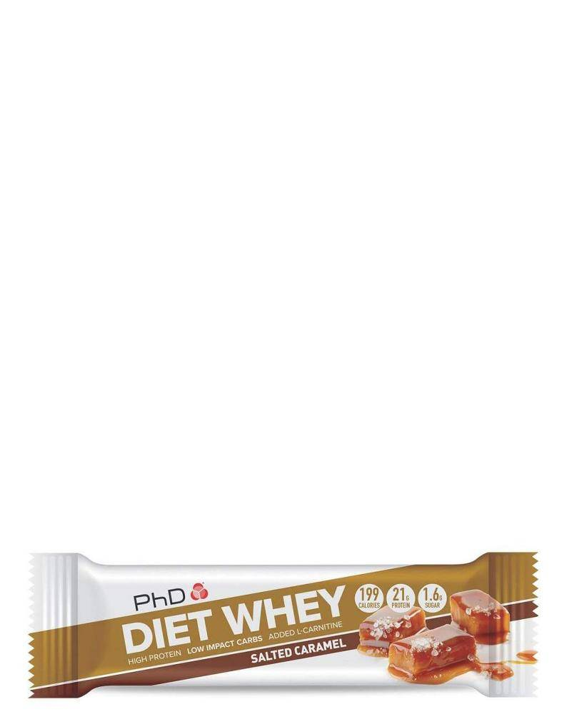 Diet whey protein bar