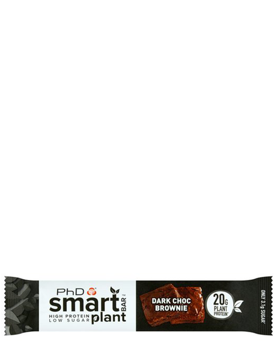PHD smart plant protein bar Dark Choc Brownie
