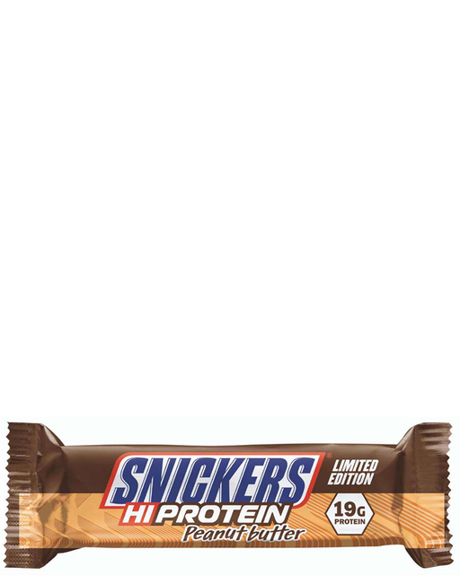 Snickers Hi protein peanut butter