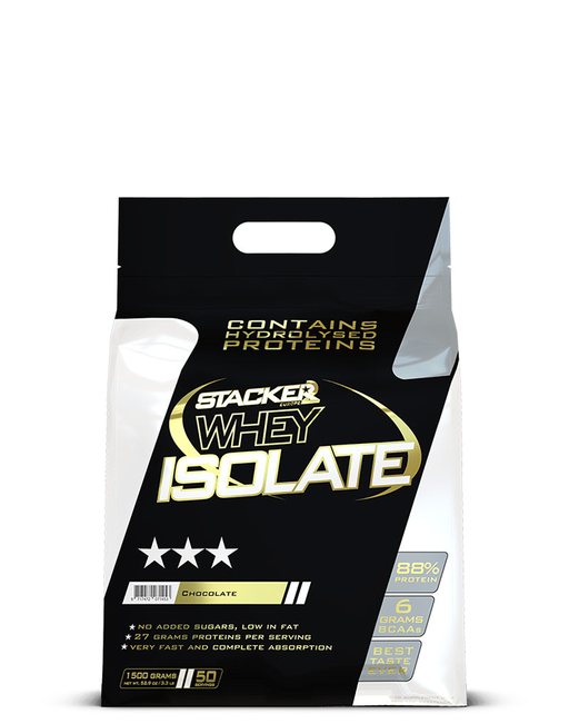 Stacker Whey Isolate 1500gr Chocola
