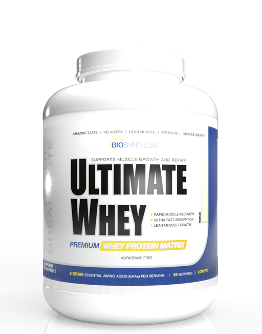 Bio Synthesis - Ultimate Whey - Vanille - 2kg - 54 servings