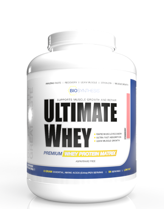 Bio Synthesis - Ultimate Whey - Strawberry - 2kg - 54 servings