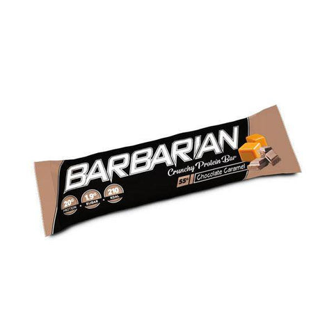 Image of Barbarian Crunchy protein Bar Chocolate Caramel