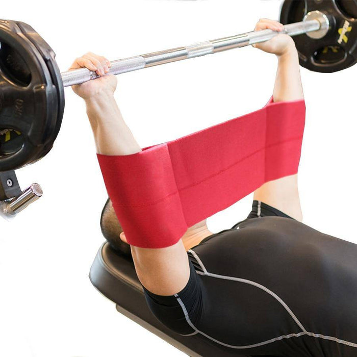 Gym equipment Weightlifting Bench Press Resistance Bands Fitness Elbow pads joints Support Belt Golf Training PostureCorrector