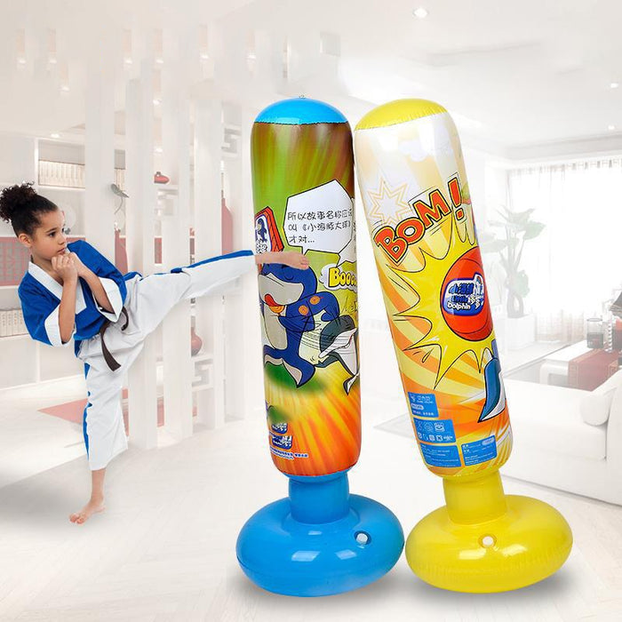 Inflatable punch bag for children