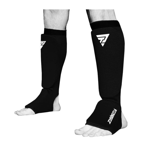 Shin guards for martial arts