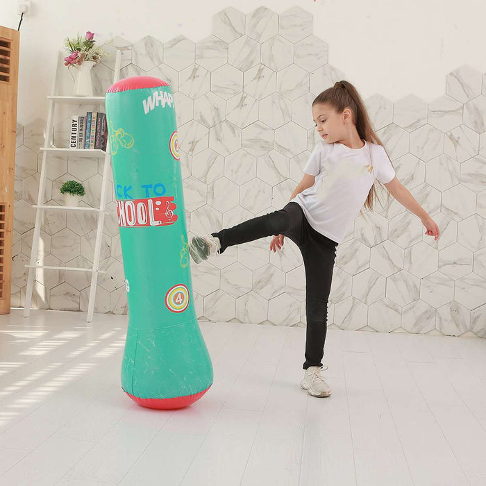 Inflatable punching bag 120 / 160cm