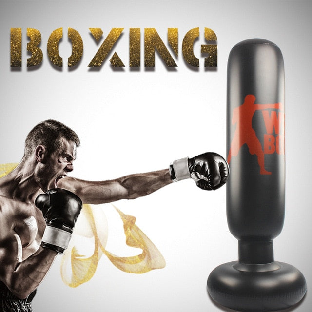 Free-standing punch bag