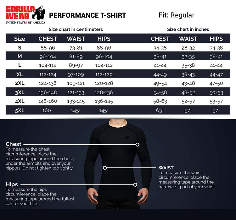 Gorilla Wear - Performance T-shirt