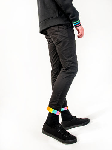 Berlin Stretch Skinny Chinos - Regenbogen