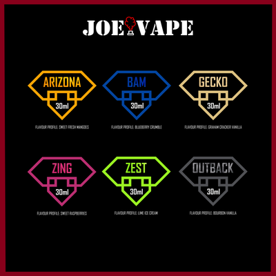 Joe Vape's e-Juice | Crafted in Melbourne | Flavor you will not