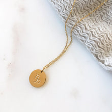 Load image into Gallery viewer, Gold- Minimal Zodiac Necklace - Namaste Jewelry Canada