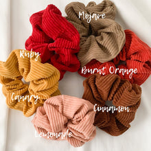 Load image into Gallery viewer, Golden Hour Scrunchies - Namaste Jewelry Canada