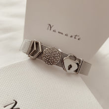 Load image into Gallery viewer, Silver Mesh Bracelet - Namaste Jewelry Canada