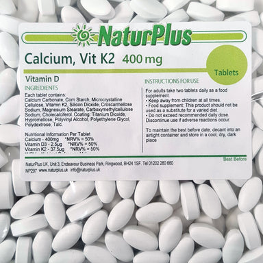 Calcium, Vitamin D3 and Vitamin K2