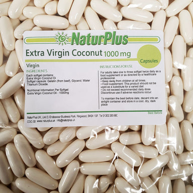Extra Virgin Coconut Oil 1000mg