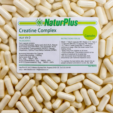 Creatine Complex with Alpha Lipoic Acid, Zinc and Vitamins D3 and B12