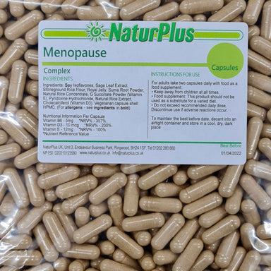 Menopause, SOYA Isoflavones with Sage, Ginseng & Royal Jelly, MenoControl Capsules