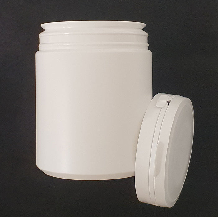 Bottle and Lid for Storage (White)