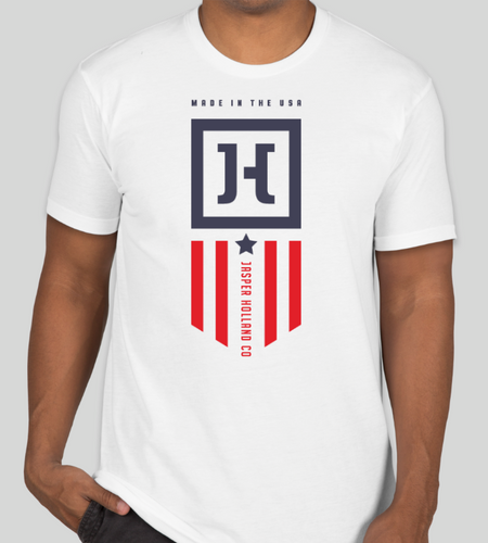 Jasper Holland Patriot Design Patriotic T-shirt