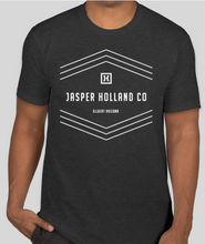 Load image into Gallery viewer, Jasper Holland Co - Stripes Design Mens T-shirt (Charcoal Gray)