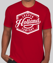 Load image into Gallery viewer, Jasper Holland Co - Vintage Design Mens T-shirt (Red)