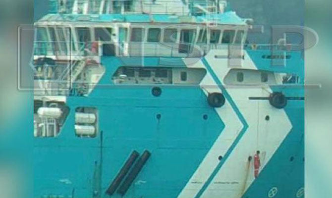 Maritime News: Hanged man at offshore ship side, tug SK MAINSTAY