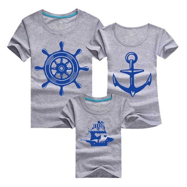 2019 Sailor family Seaman Seawoman Couple T Shirt