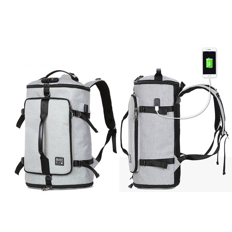 USB Smart Backpack Men Women Anti Theft