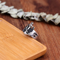 Seaman Vintage Anchor Navy Nautical Sailor Rings