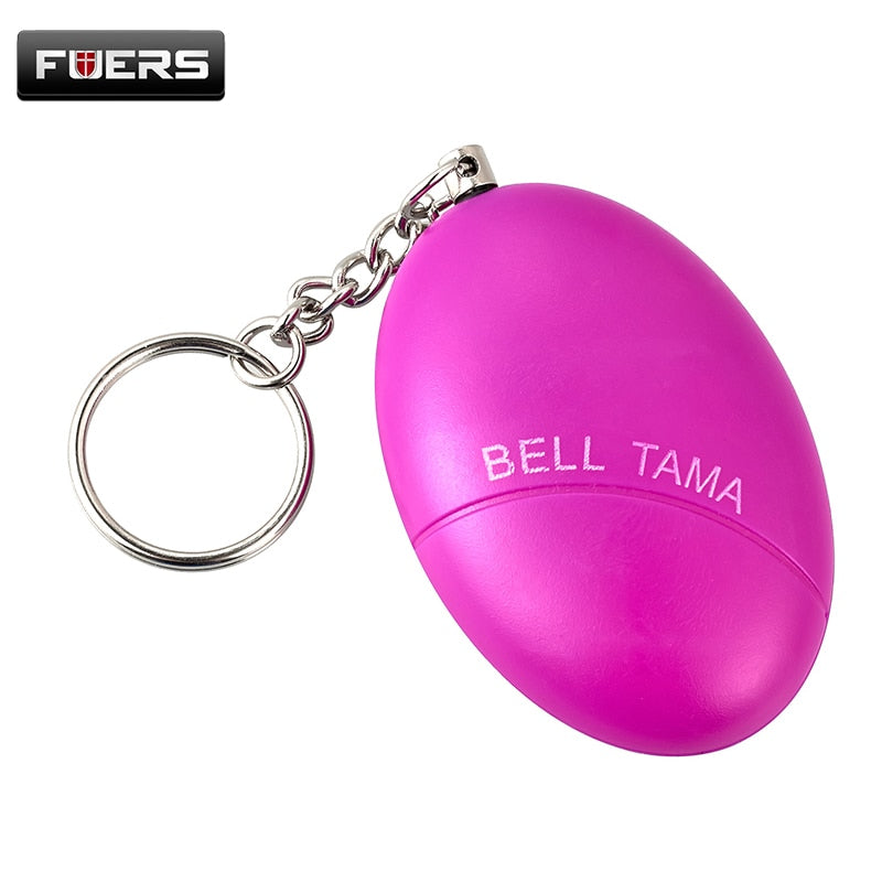 Personal Alarm Protection Egg Shape Anti-Attack Security Keychain