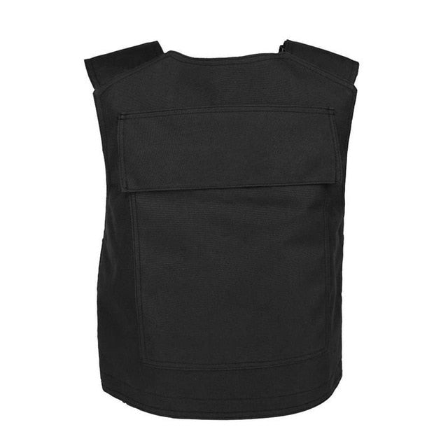 Bulletproof No Steel Plate Survival Tactical Vest Security Guard  Protecting Clothes