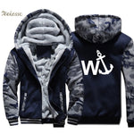 Anchor Jacket Seaman Sweatshirt Coat Winter