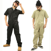 Coveralls Seaman Sets Short Sleeved Overalls Safety Clothing