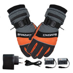 Winter Ski Usb Rechargeable Heated Gloves